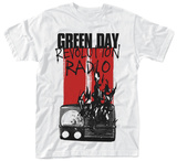 Green Day- Radio Combustion T-shirts