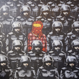 24th Street 2 Giclee Print by  Banksy