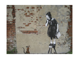 Ratgirl Giclee Print by  Banksy