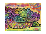 Crocodile Giclee Print by Dean Russo