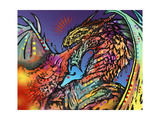 Dragon Giclee Print by Dean Russo