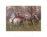 A Meeting in Old Virginia Giclee Print by Thure de Thulstrup