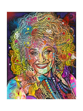 Dolly Parton Giclee Print by Dean Russo