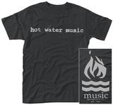 Hot Water Music- Band Logo Maglietta