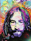 Purple Haze All across Lennon's Mind Giclee Print by Dean Russo