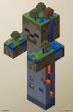 Minecraft- Zombie Swamp Print