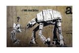 Your Father Reproduction procédé giclée par  Banksy