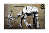Your Father Giclee Print by  Banksy