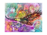 Aigle Reproduction procédé giclée par Dean Russo