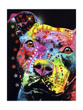 Thoughtful Pit Giclee Print by Dean Russo