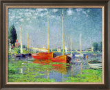Argenteuil, circa 1872-5 Framed Giclee Print by Claude Monet