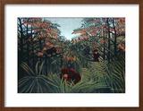 The Tropics, 1910 Framed Giclee Print by Henri Rousseau