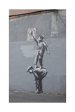 Graffiti Is a Crime Giclee Print by  Banksy