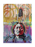 Sitting Bull 2 Giclee Print by Dean Russo