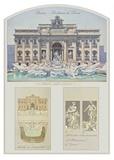 Fontana Di Trevi (Trevi Fountain) Architectural Details Prints
