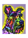 My Schnauzer Giclee Print by Dean Russo