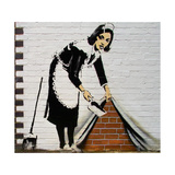 Maid Reproduction procédé giclée par  Banksy