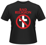 Bad Religion- Cross Buster Inverted Logo T-skjorte
