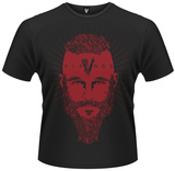 Vikings- The Face of Ragnar T-skjorte