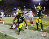 NFL: Randall Cobb Touchdwon 2016 NFC Wild Card Game Photo