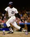 MLB: Barbaro Garbey 1984 World Series Action Photo
