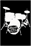 Weapon of Mass Inspiration - Drum Set Music Photographie