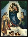 Sistine Madonna, c.1513-1514 Prints by  Raphael