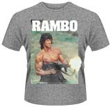 Rambo- No Man, Law, or War can Stop him T-Shirts