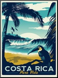 Costa Rica Mounted Print by Matthew Schnepf