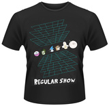 Regular Show- In the Grid T-shirts