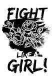 Fight Like a Girl! Plakat