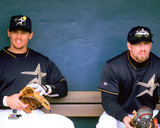 MLB: Craig Biggio & Jeff Bagwell 1999 Photo