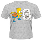 The Simpsons- Bart Didn't Do It Shirts