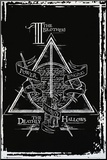 Harry Potter- Deathly Hallows Diagram Mounted Print by WORLDWIDE