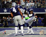 NFL: Dak Prescott, Dez Bryant, & Ezekiel Elliott 2016 Action Photo