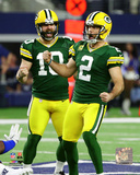 NFL: Mason Crosby 2016 NFC Divisional Playoff Game Photo