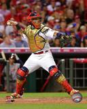 MLB: Yadier Molina 2015 MLB All-Star Game Action Photo