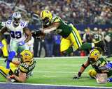 NFL: Ty Montgomery Touchdown 2016 NFC Divisional Playoff Game Photo