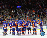 NHL: The New York Islanders salute the crowd 2016 Photo