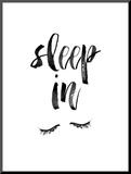 Sleep In Mounted Print by Brett Wilson