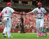 MLB: Yadier Molina & Matt Carpenter 2016 Action Photo