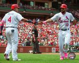 MLB: Yadier Molina & Matt Carpenter 2016 Action Photo
