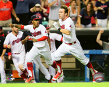 MLB: Tyler Naquin 2016 Action Photo
