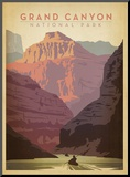 Grand Canyon National Park Mounted Print by  Anderson Design Group