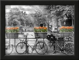 Typical Amsterdam - Panoramic View Art by Melanie Viola