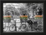 Typical Amsterdam - Panoramic View Art by Melanie Viola