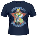 The Simpsons- Clown In Training T-shirts