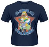 The Simpsons- Clown In Training Camisetas