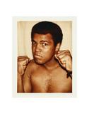 Ali, Muhammad, 1977 Poster von Andy Warhol