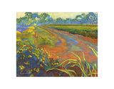 Wildflower Road Prints by Karen Mathison Schmidt